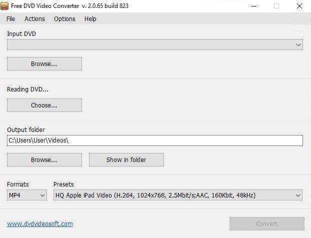 Free DVD Video Converter 2.0.15