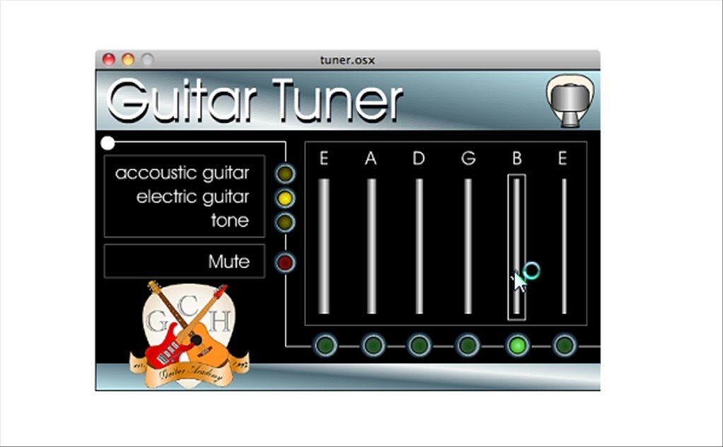 An authentic BOSS tuner for your smartphone or tablet