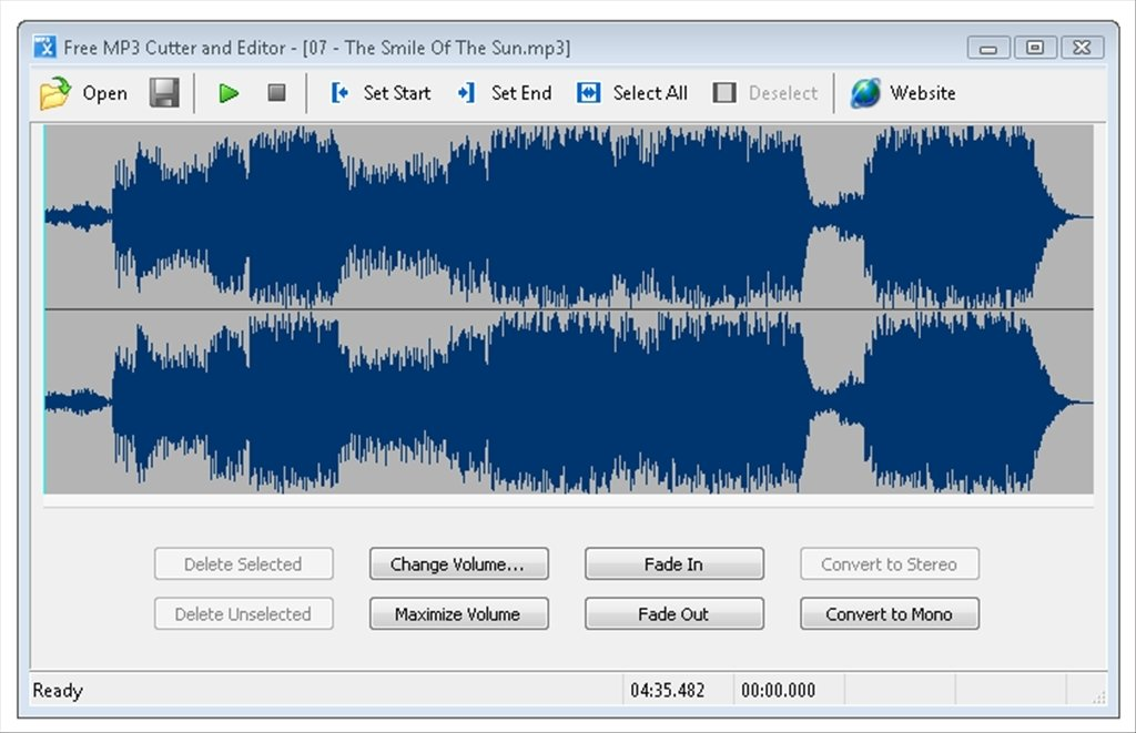 Free MP3 Cutter and Editor image 5