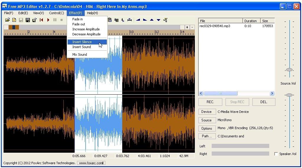 Free MP3 Editor