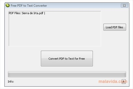 pdf to txt file converter free download