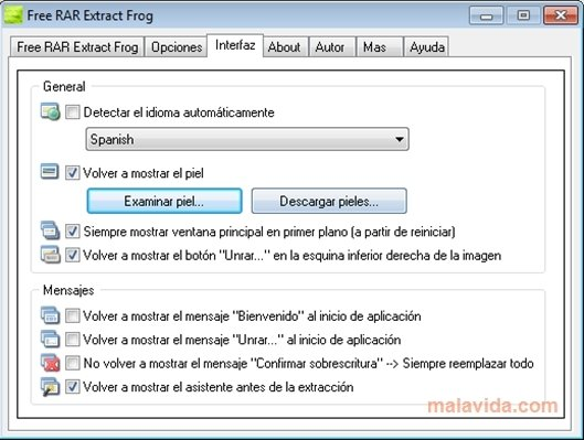 Free RAR Extract Frog 7 00 - Download for PC Free