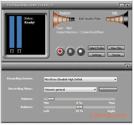 Free Sound Recorder 10 8 8 - Download for PC Free