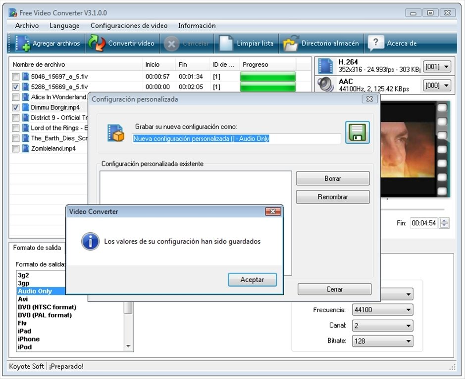 descargar free video converter en espa?ol