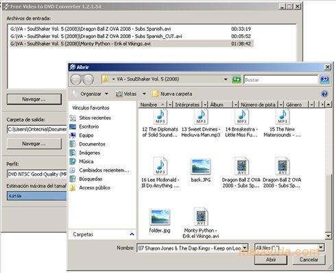 Free Video to DVD Converter 5 0 99 823 - Download for PC Free