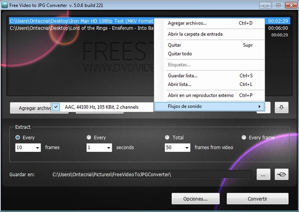 Free Video to JPG Converter 5 0 101 201 - Download for PC Free