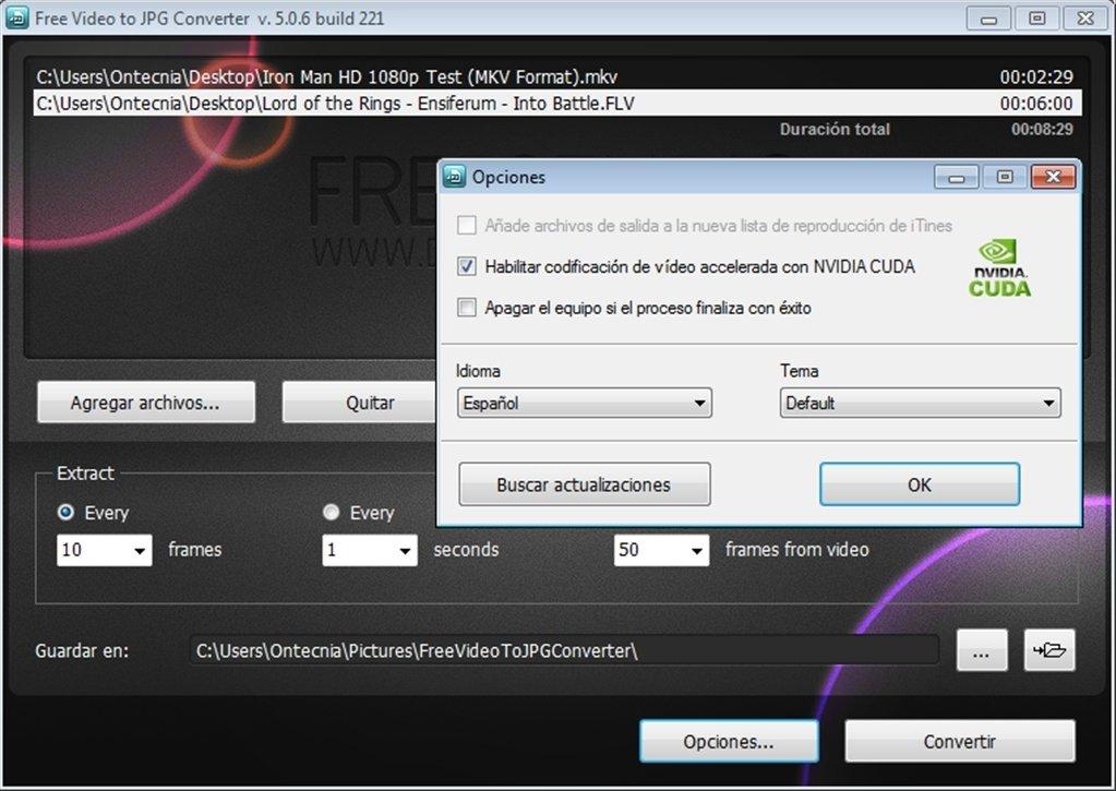 descargar free video to jpg converter