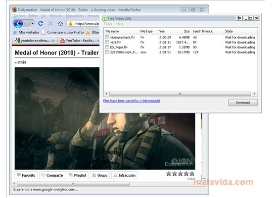 Free Video Zilla 1 1 2 - Download for PC Free