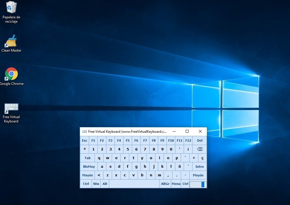 Free Virtual Keyboard image 3