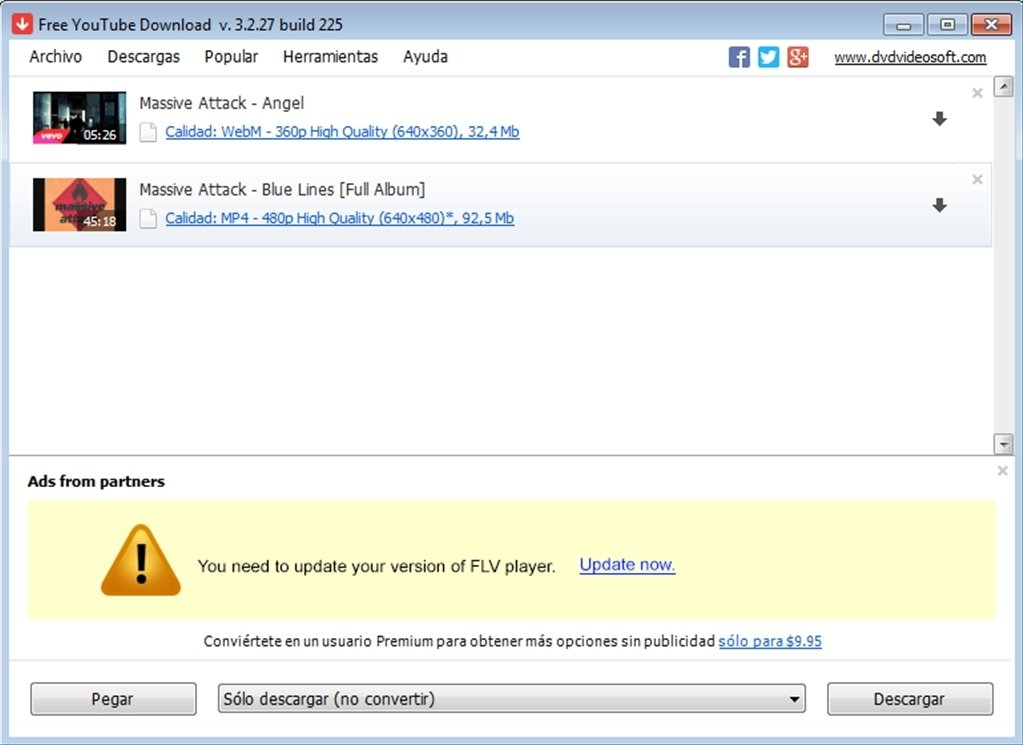 Free YouTube Download 3.2.49.1111