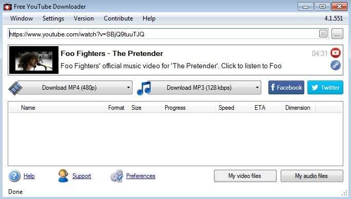 facebook downloader software free download