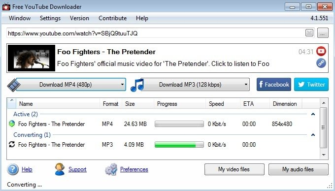 Free YouTube Downloader 4 6 1007 - Download for PC Free