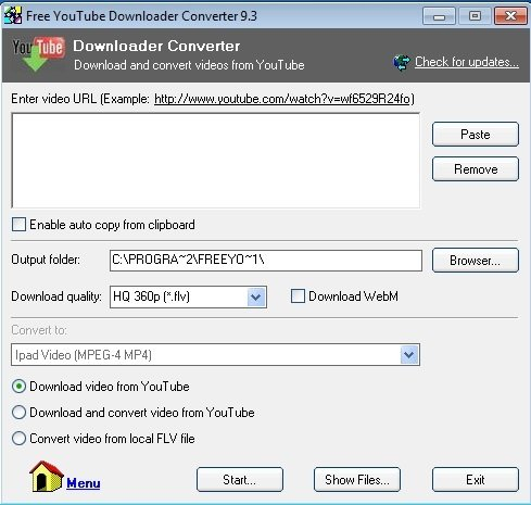 Free youtube downloader high quality
