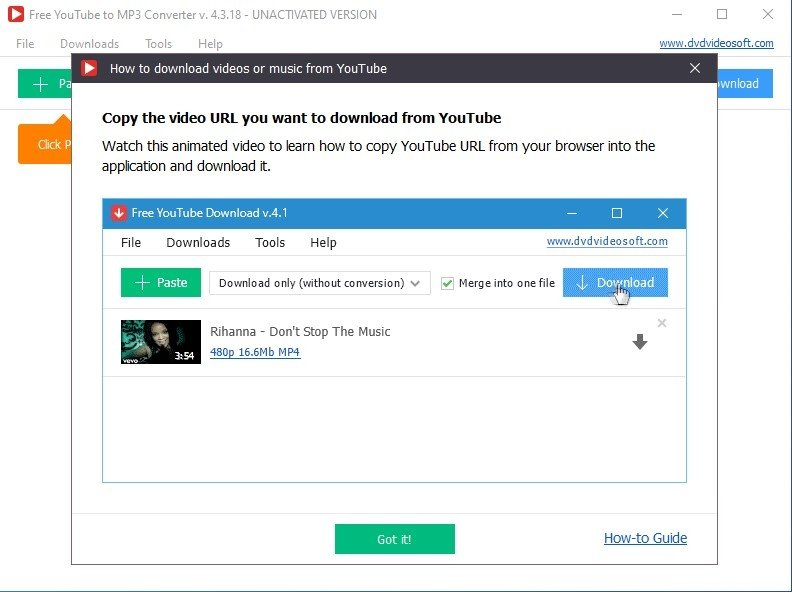 Free Youtube To Mp3 Converter 4 3 41 122 Download For Pc Free