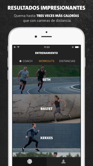 Freeletics Running iPhone image 5
