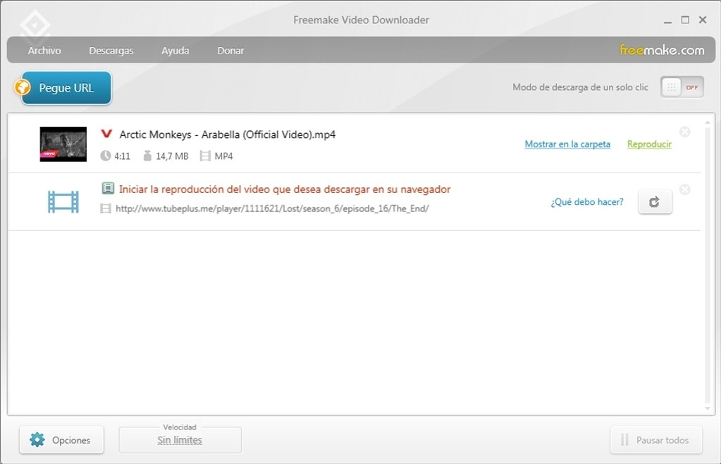 Freemake Video Downloader image 4