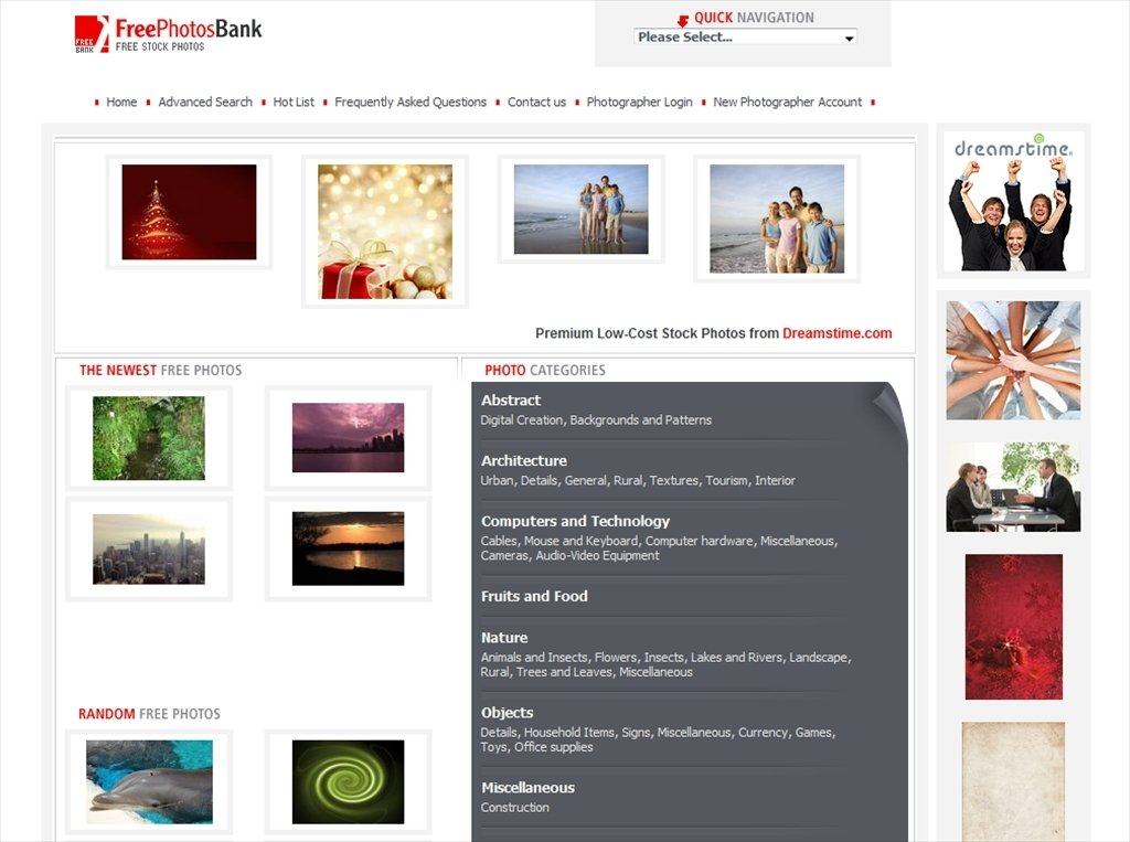 FreePhotosBank Webapps image 5