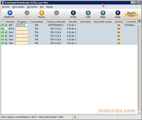 FreeRapid Downloader image 5