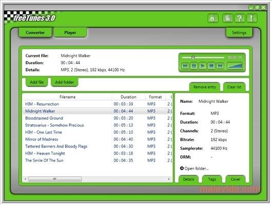 freeTunes 3.0