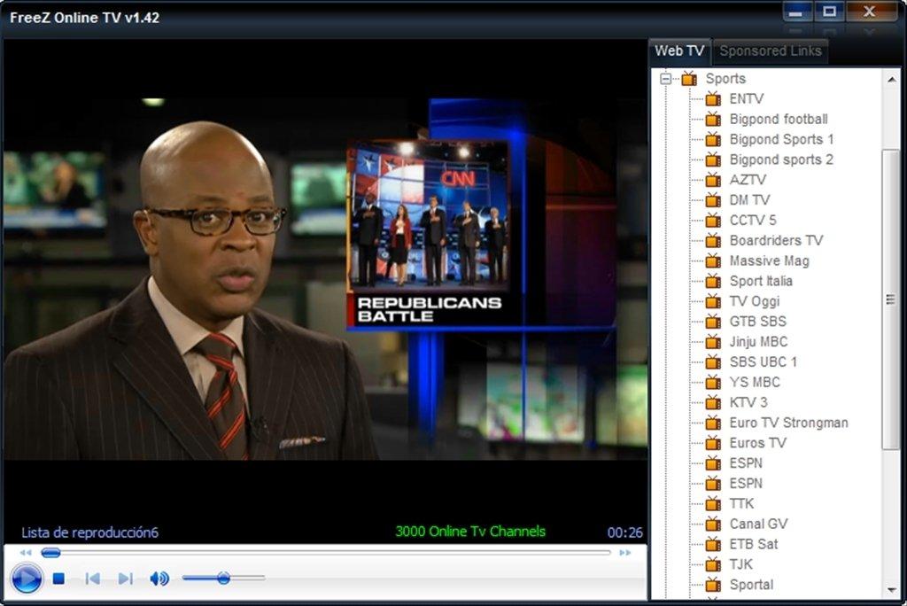 computer via tv