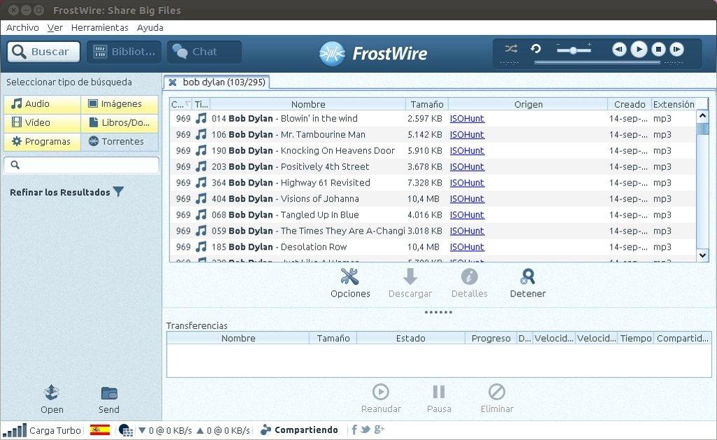 frostwire mac gratuit en francais