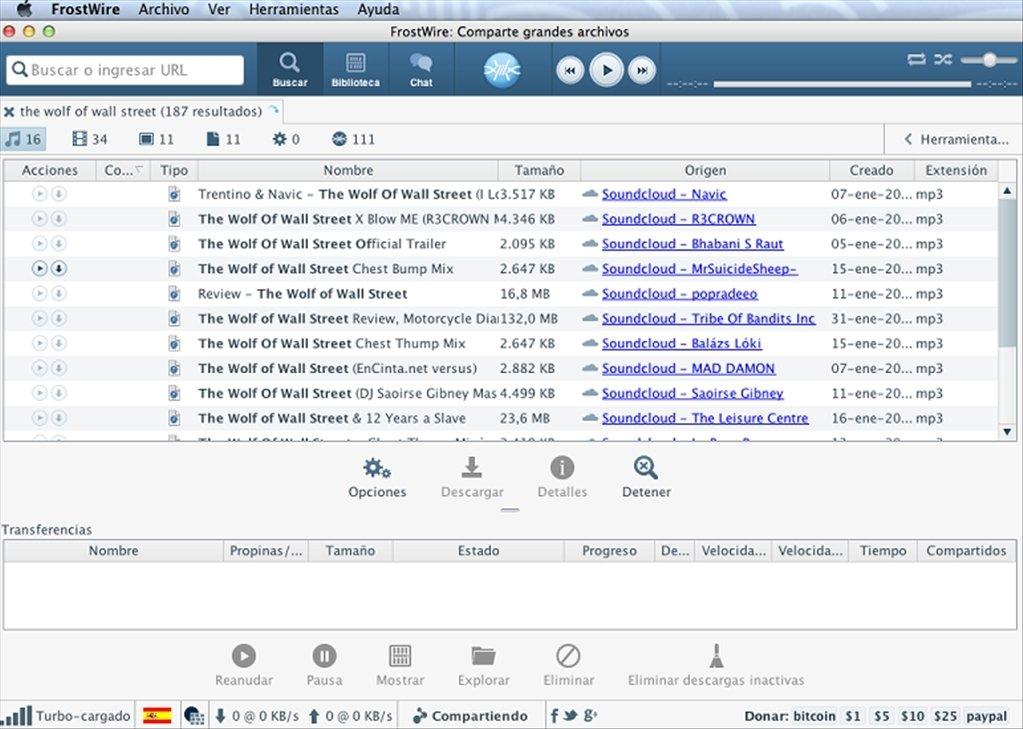 FrostWire Mac image 4