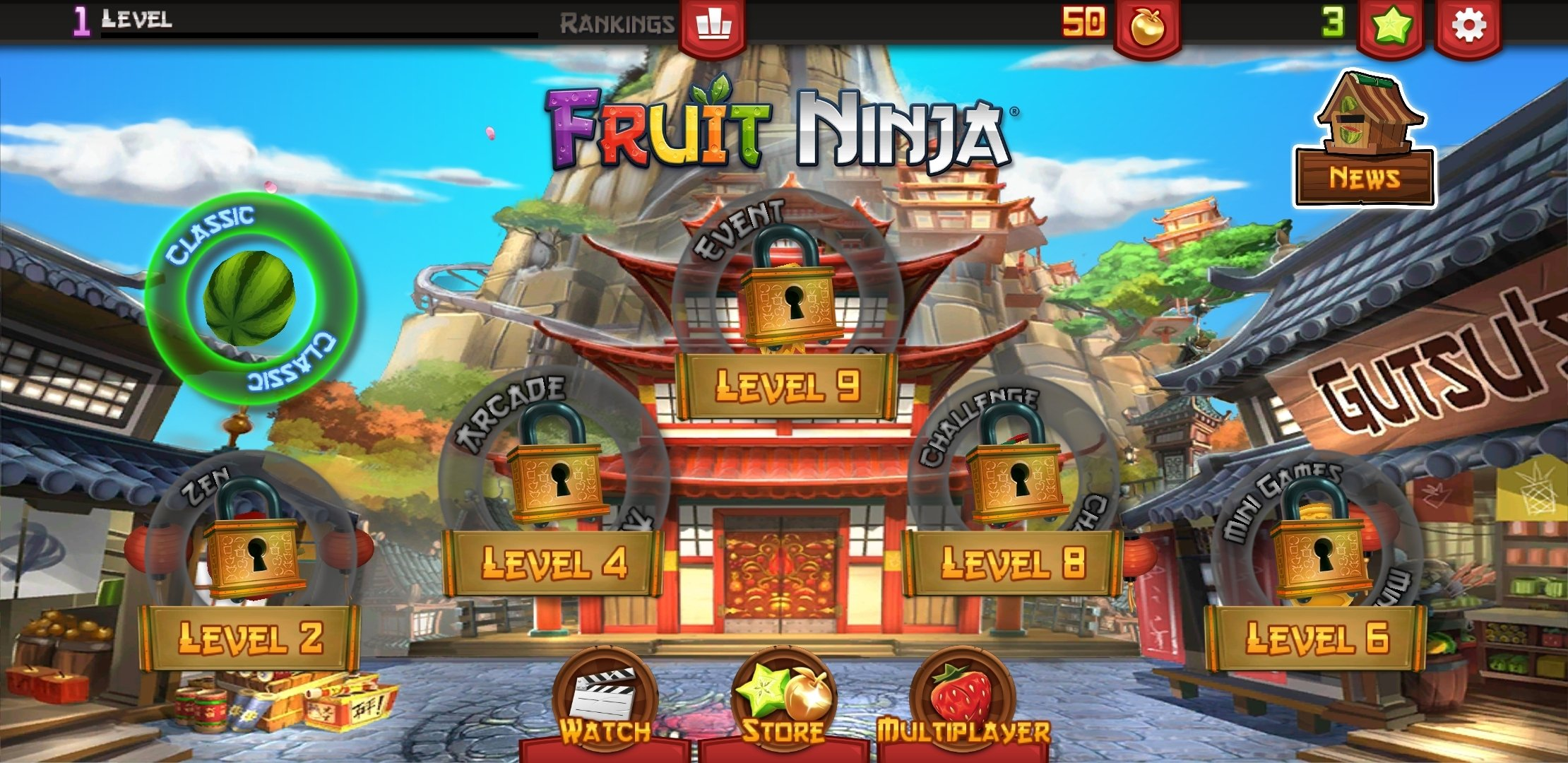 free download fruit ninja for mobile phones