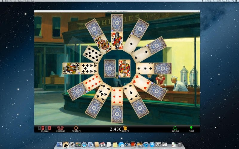 Full deck solitaire for mac download.