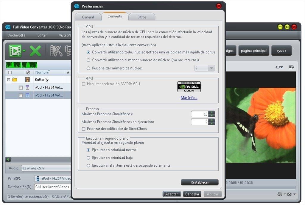descodificador directshow para mac