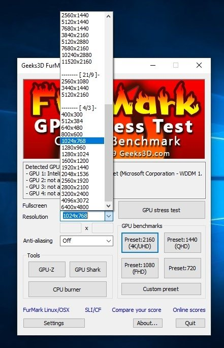 FurMark 1 20 7 0 - Download for PC Free
