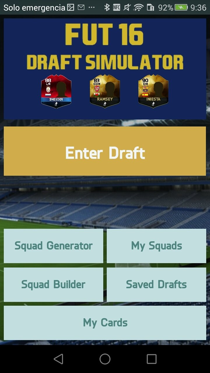 FUT 16 Draft Simulator Android image 5