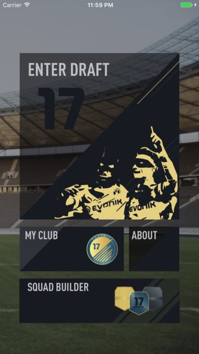 FUT 17 DRAFT by PacyBits iPhone image 5