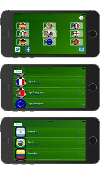 Football Sports All Leagues iPhone image 2