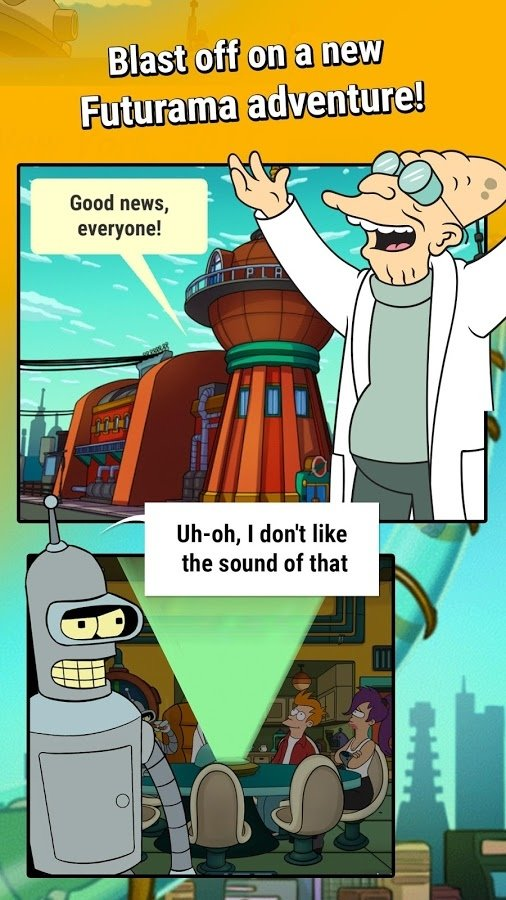 Futurama: Game of Drones Android image 5
