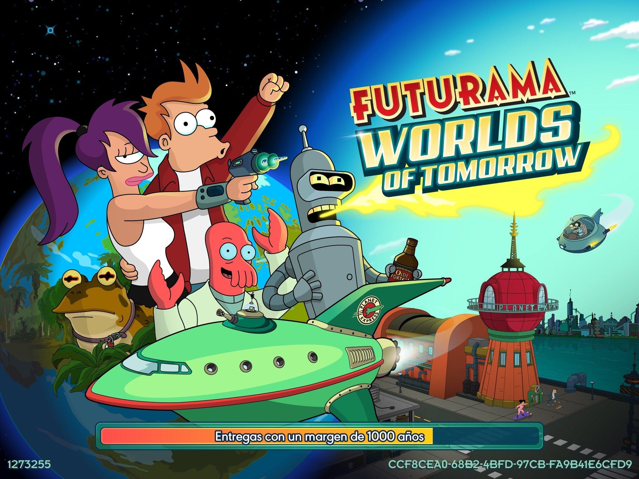 Futurama: Worlds of Tomorrow iPhone image 8
