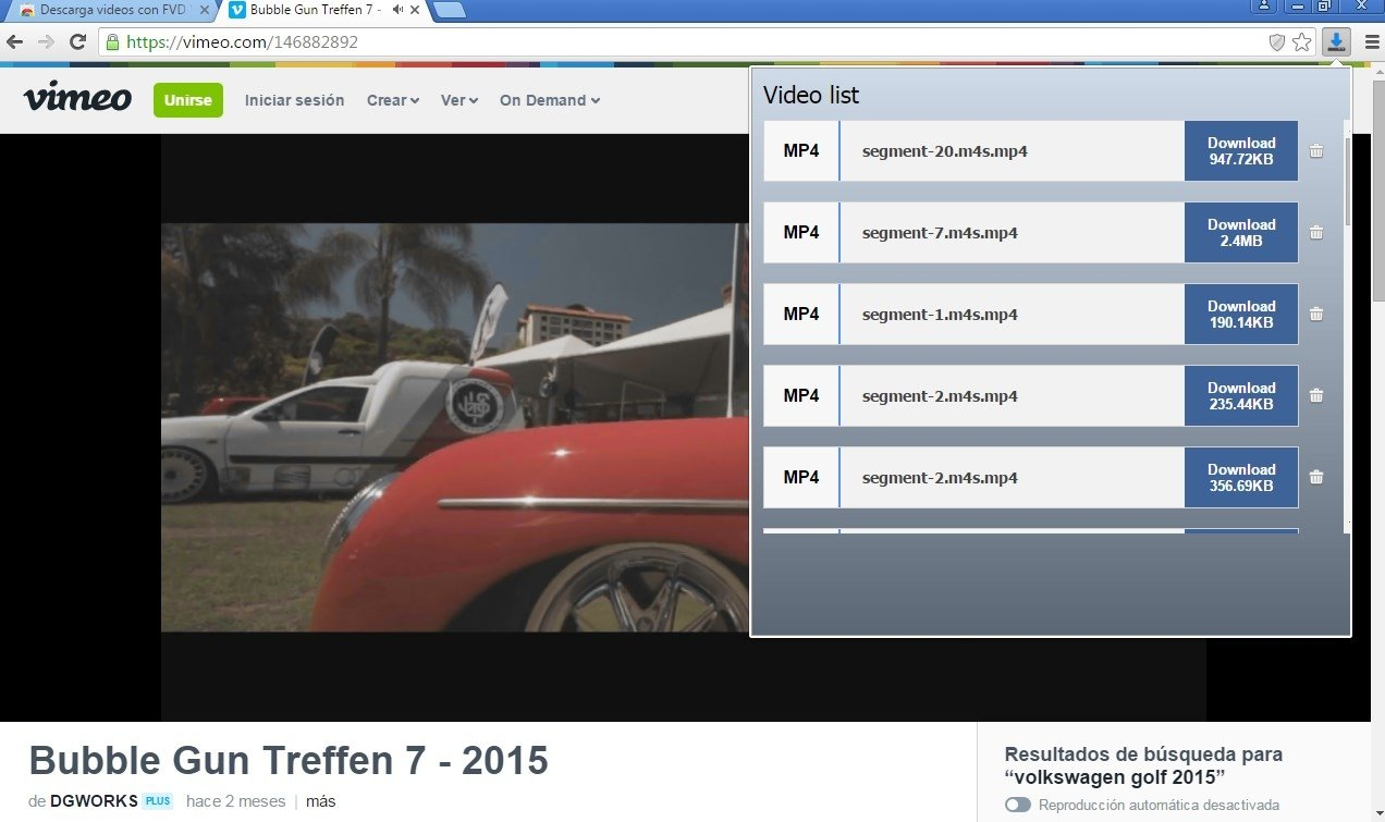 FVD Video Downloader 1 55 - Download for PC Free