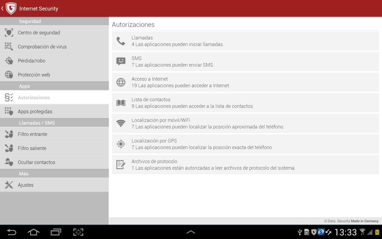 G Data Internet Security Android image 5