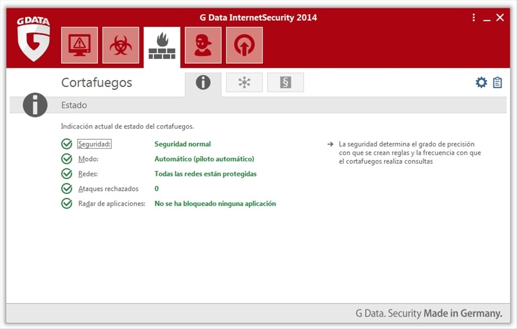 G Data InternetSecurity 2018 25 5 0 2 - Download for PC Free