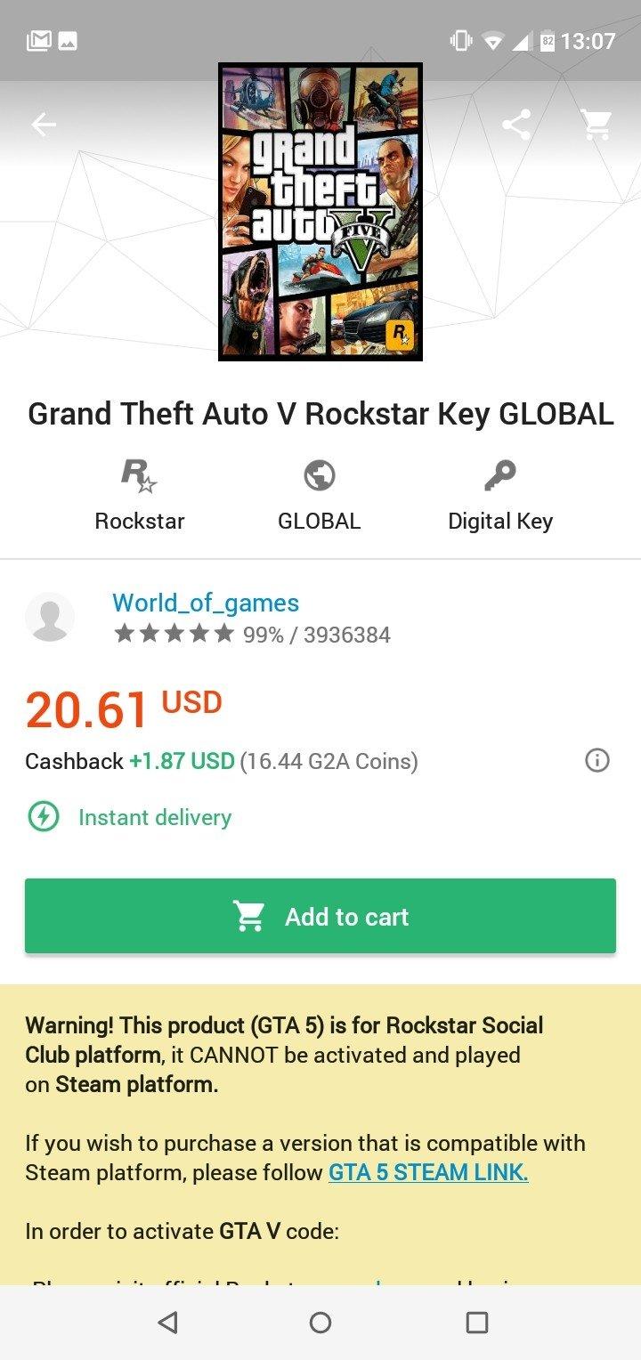 G2A Marketplace 2 4 2 - Baixar para Android APK Grátis
