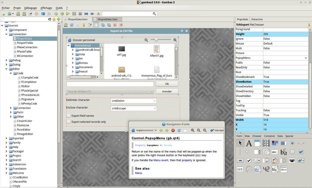 Gambas Linux image 3