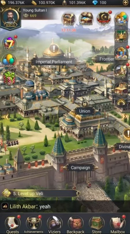 free download game of sultan mod apk