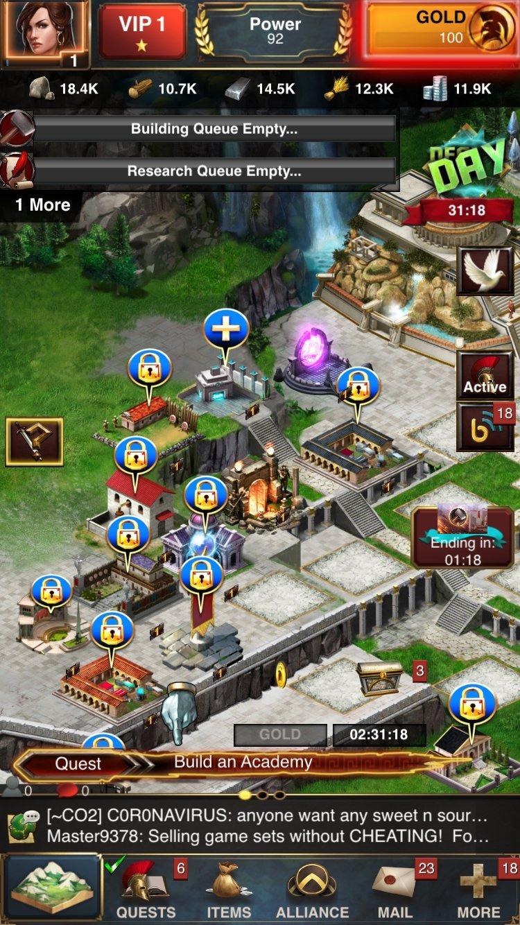 Game of War iPhone image 5
