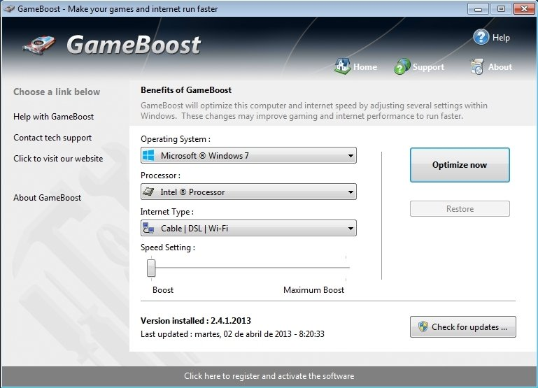 GameBoost 3.8.31.2015