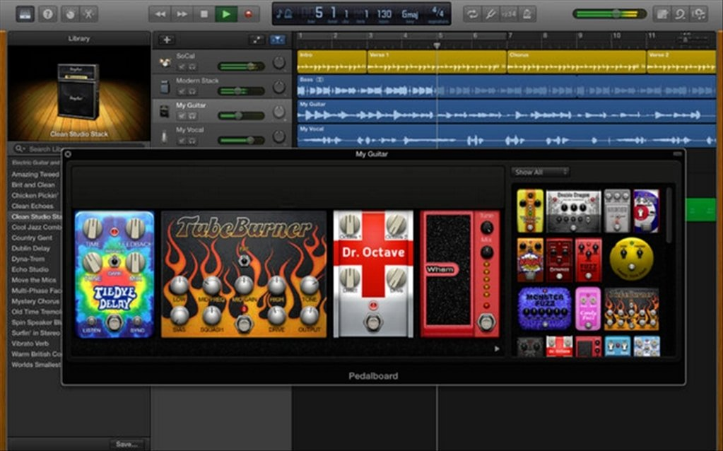 GarageBand 10 3 2 - Download for Mac Free