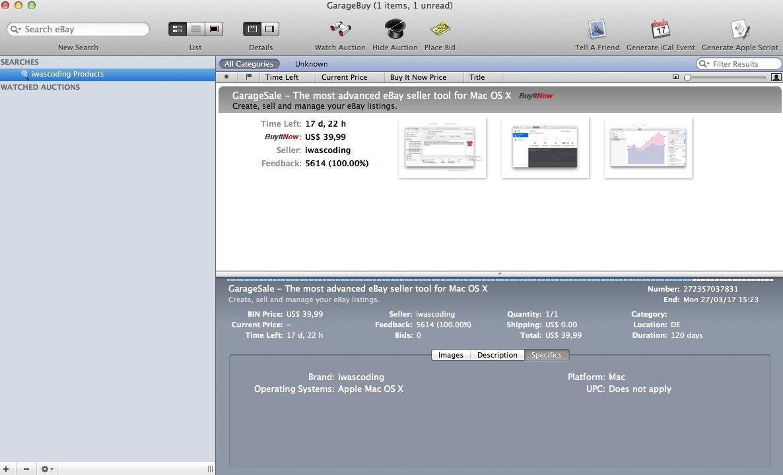 GarageBuy Mac image 6