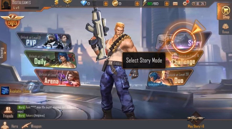Garena Contra: Return 1 6 50 5040 - Download for Android APK