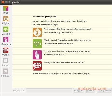 Gbrainy 2 2 2 Descargar Para Linux Gratis