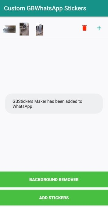 GBStickers Maker Android