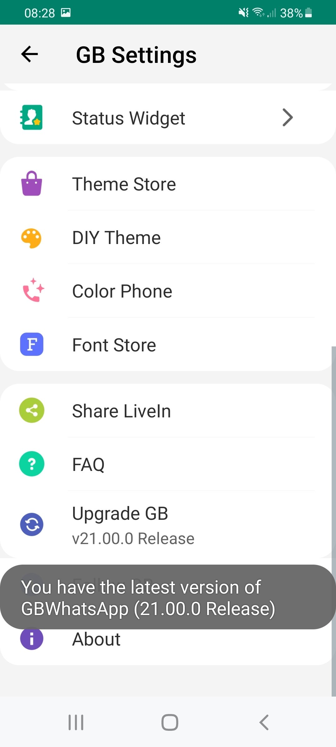 GBWhatsApp 8 00 - Download for Android APK Free