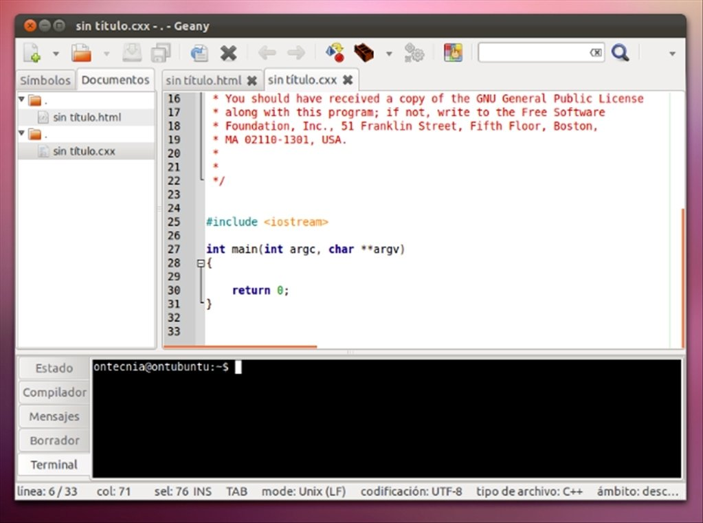 how to download geany in ubuntu